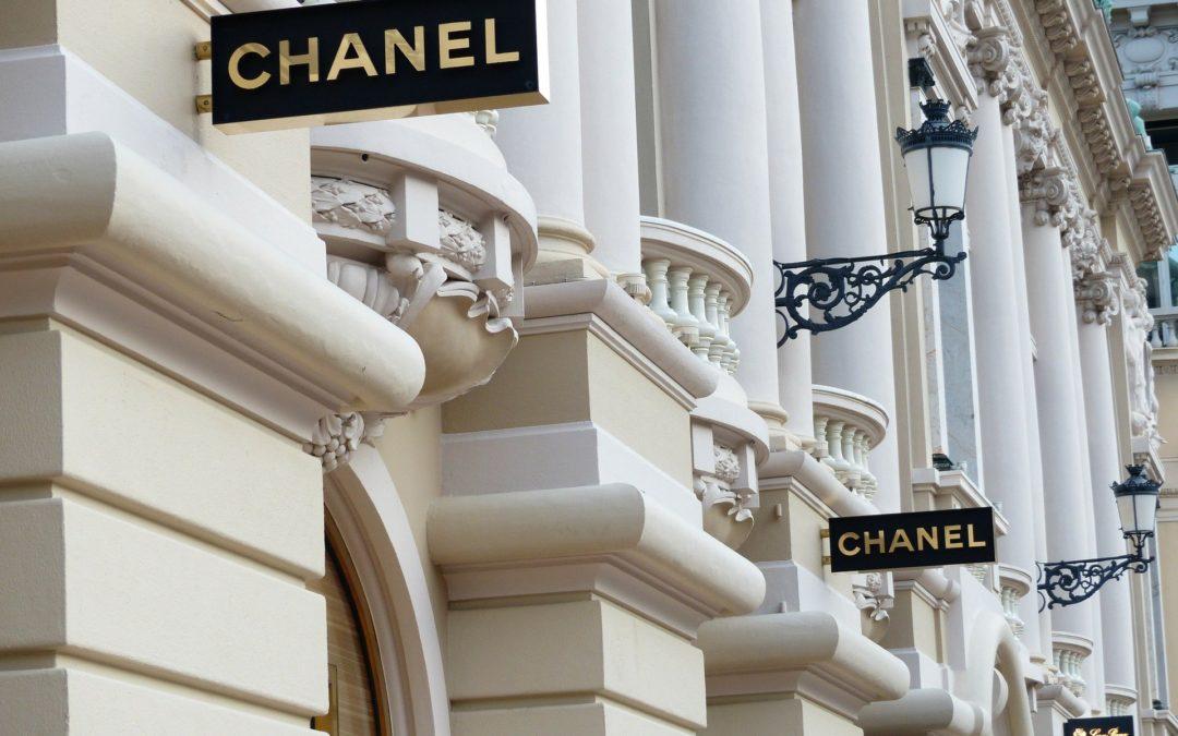 Chanel, l'enseigne de luxe française