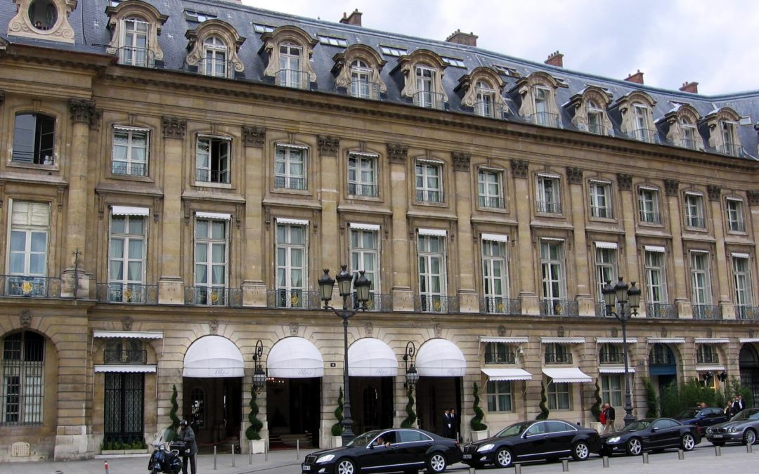 Paris, palace et hotellerie de luxe